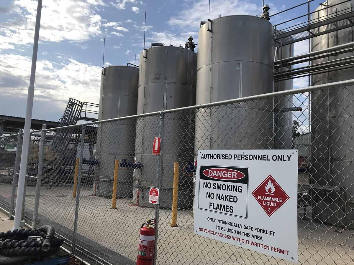 Hazardous Area Alcohol RTD bottling plant upgrade